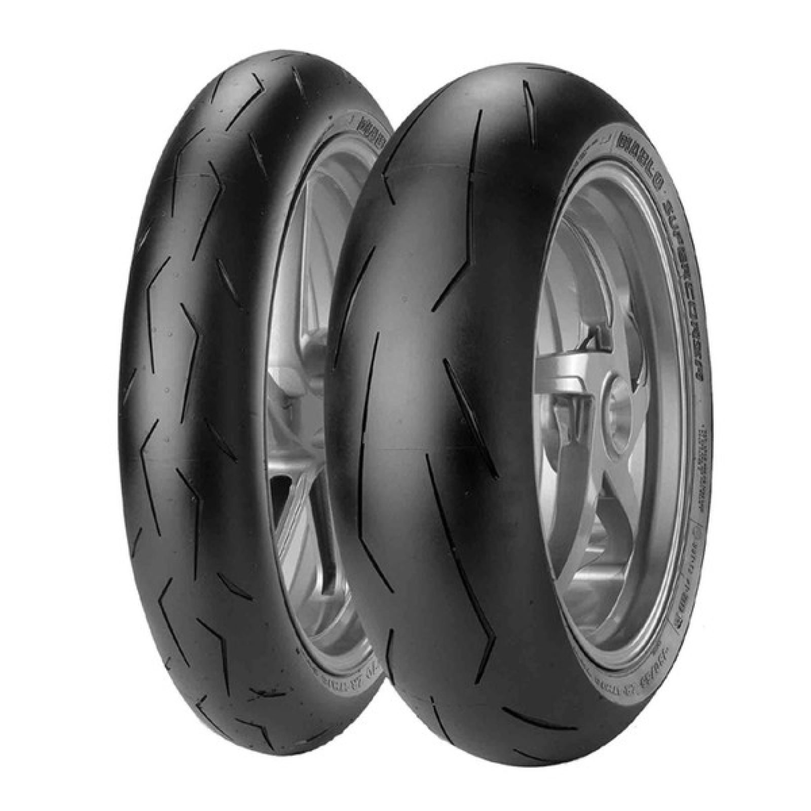 PIRELLI DIABLO SUPERCORSA V1 SC2 le train en 120/180