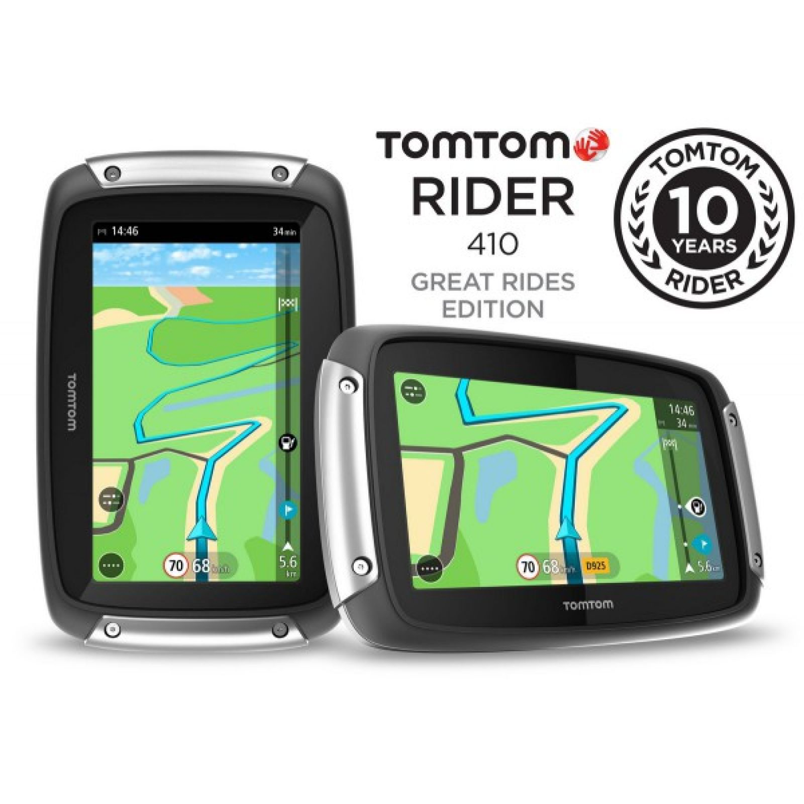 TOMTOM - Rider 410 - image d'illustration 1